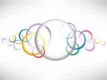 Eps10 cirkels background3 Royalty-vrije Stock Afbeelding