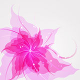 EPS10 colorful flower background Stock Image