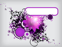 Eps10 Floral vector Stock Image