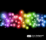 Eps10 light effects background Stock Images