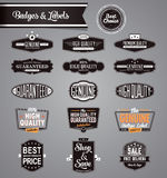 Eps10 set of vector labels and stickers Stock Photos