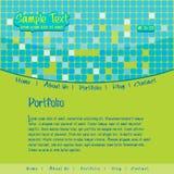 EPS10 Vector Website Design Stock Images