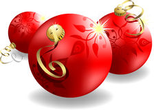 Eps8 3d christmas ball Stock Photography