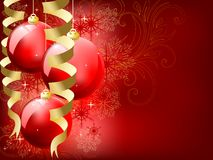 Eps8 Christmas background Royalty Free Stock Photos