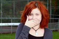 φορέστε το γέλιο μου κάν&epsil Στοκ φωτογραφίες με δικαίωμα ελεύθερης χρήσης