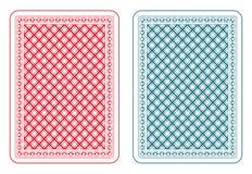 Epsilon della parte posteriore di carte da gioco Fotografie Stock Libere da Diritti
