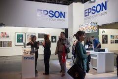 Epson bei Photokina 2016 Stockbilder