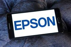 Epson logo Royalty Free Stock Image