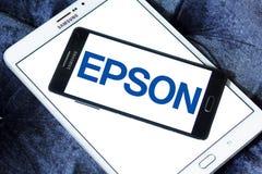 Epson logo Royalty Free Stock Images