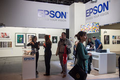 Epson in Photokina 2016 Stock Afbeeldingen