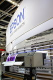 Epson Printing Stand at Photokina 2008 Stock Photography