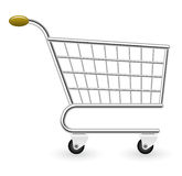 Epty shopping cart Royalty Free Stock Photos