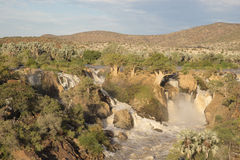 Epupa Falls, Namibia Royalty Free Stock Photos