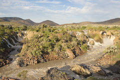Epupa Falls, Namibia Royalty Free Stock Photo