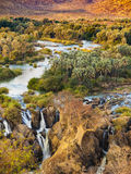 Epupa. Falls view, Namibia, Africa Royalty Free Stock Photography