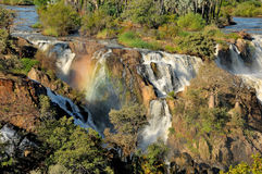 Epupa waterfall,Namibia Stock Image