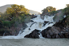 Epupa waterfalls Royalty Free Stock Photo