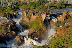 Epupa waterfalls Stock Images