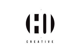 EQ E Q White Letter Logo Design with Circle Background. Stock Photo