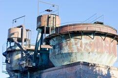 Eqipment del molino de azúcar Imagen de archivo libre de regalías