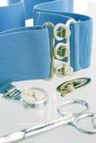 Eqipment del oficio de enfermera imágenes de archivo libres de regalías