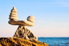 Equability of stones Stock Image