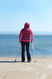 Equal opportunities for disabled Royalty Free Stock Photo