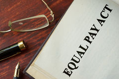 Equal Pay Act. Royalty Free Stock Photo