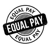 Equal Pay rubber stamp. Grunge design with dust scratches. Effects can be easily removed for a clean, crisp look. Color is easily changed Royalty Free Stock Photos