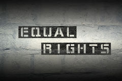 Equal rights gr Royalty Free Stock Photography