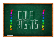 Equal rights Stock Images