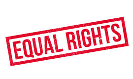 Equal Rights rubber stamp Stock Photo