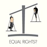Equal rights Royalty Free Stock Photography
