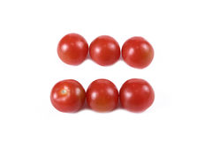 Equal tomatoes Royalty Free Stock Images