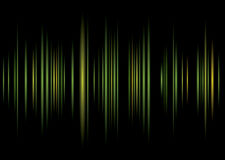 Equaliser green background Royalty Free Stock Photography