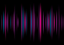 Equaliser purple background Stock Photography