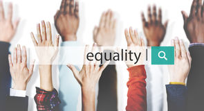 Equality Balance Fairness Respect Relationship Concept Royalty Free Stock Photos