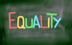 Equality Concept Royalty Free Stock Photos