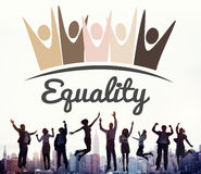 Equality Fairness Fundamental Rights Racist Discrimination Conce. Pt Stock Photos