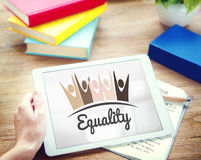 Equality Fairness Fundamental Rights Racist Discrimination Conce. Pt Stock Images