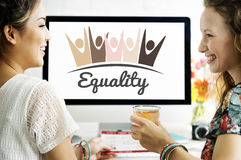 Equality Fairness Fundamental Rights Racist Discrimination Conce. Friends Equality Fairness Fundamental Rights Racist Discrimination Stock Images