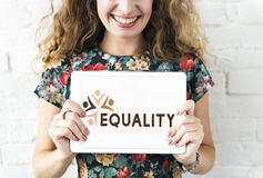 Equality Fairness Fundamental Rights Racist Discrimination Conce Stock Photography