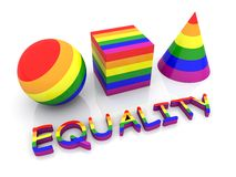 Equality - Gay pride Royalty Free Stock Images