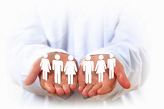 Equality of people Royalty Free Stock Image