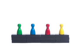 Equality. People on a meeting working together, everybody is equal Royalty Free Stock Images