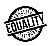 Equality rubber stamp Royalty Free Stock Images