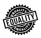 Equality rubber stamp Royalty Free Stock Image
