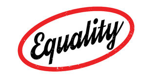 Equality rubber stamp Royalty Free Stock Photography