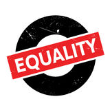 Equality rubber stamp Royalty Free Stock Photos