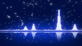 Equalizador abstracto para los temas musicales 15 stock de ilustración